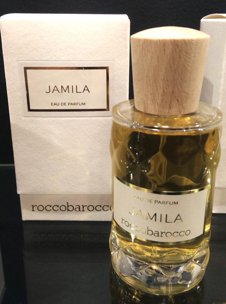 jamila roccobarocco parfum un nouveau parfum pour homme et femme 2017. Black Bedroom Furniture Sets. Home Design Ideas