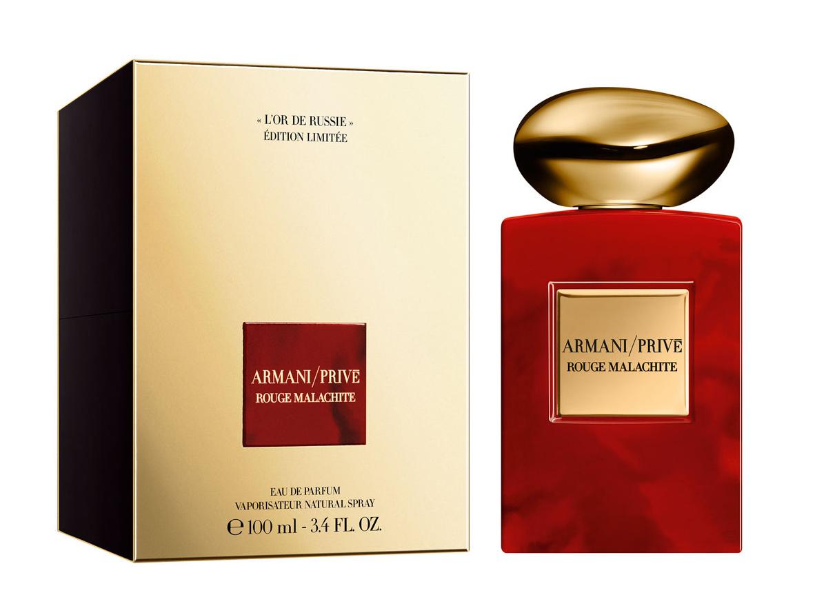 rouge malachite limited edition l or de russie giorgio armani parfum un nouveau parfum pour. Black Bedroom Furniture Sets. Home Design Ideas