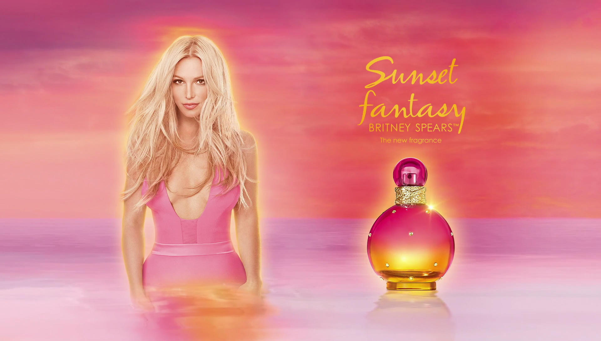 Imagenes Britney Spears: Sunset Fantasy Britney Spears Perfume