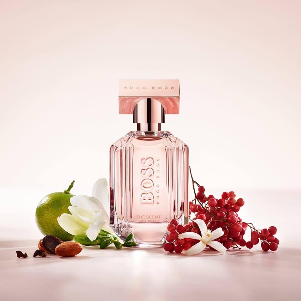 boss the scent for her eau de toilette hugo boss parfum. Black Bedroom Furniture Sets. Home Design Ideas