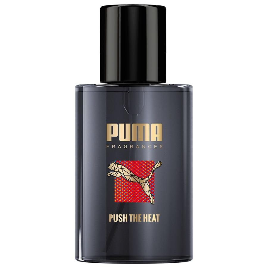 push the heat puma cologne un parfum pour homme 2016. Black Bedroom Furniture Sets. Home Design Ideas