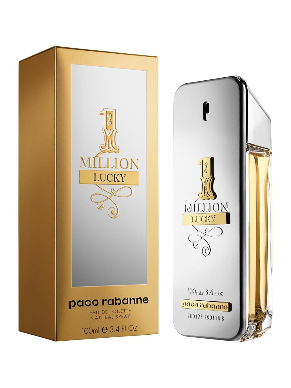 1 million lucky paco rabanne colonia una nuevo fragancia para hombres 2018. Black Bedroom Furniture Sets. Home Design Ideas