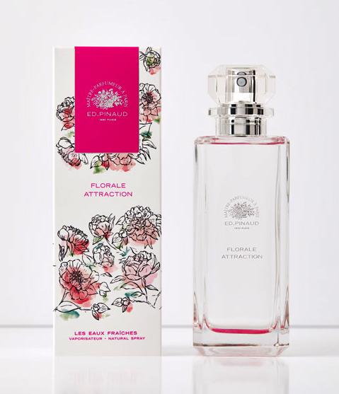 florale attraction ed pinaud parfum un nouveau parfum. Black Bedroom Furniture Sets. Home Design Ideas