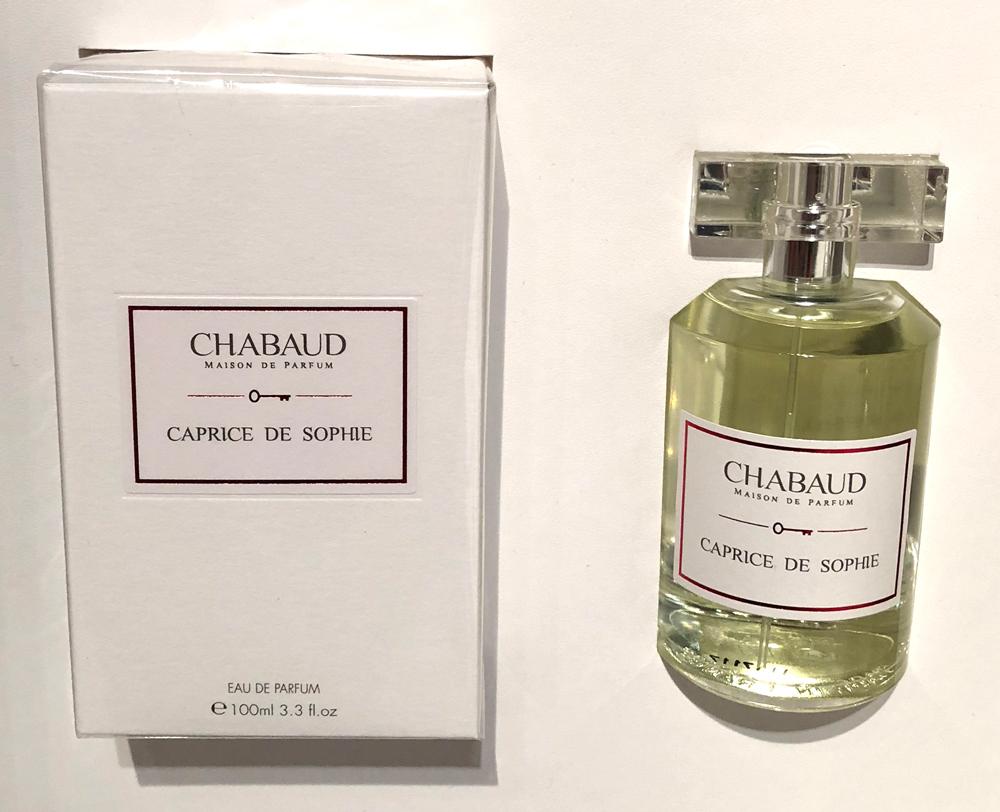 caprice de sophie chabaud maison de parfum perfume a new fragrance for women 2018. Black Bedroom Furniture Sets. Home Design Ideas
