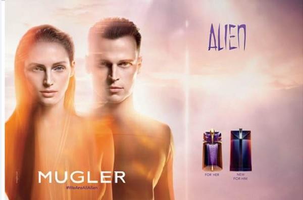 alien man mugler cologne een nieuwe geur voor heren 2018. Black Bedroom Furniture Sets. Home Design Ideas