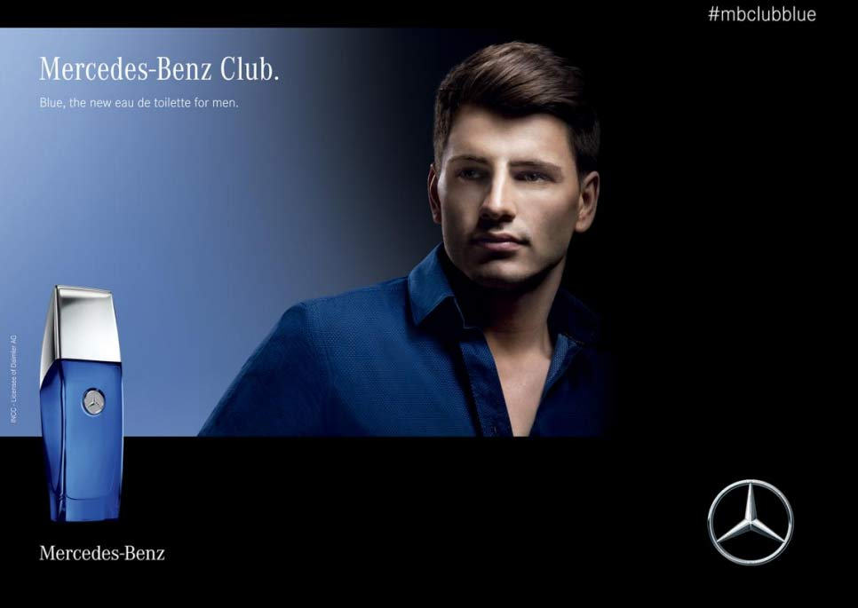 Kết quả hình ảnh cho Mercedes-Benz Club Blue By Mercedes Benz Perfume For Men 2018