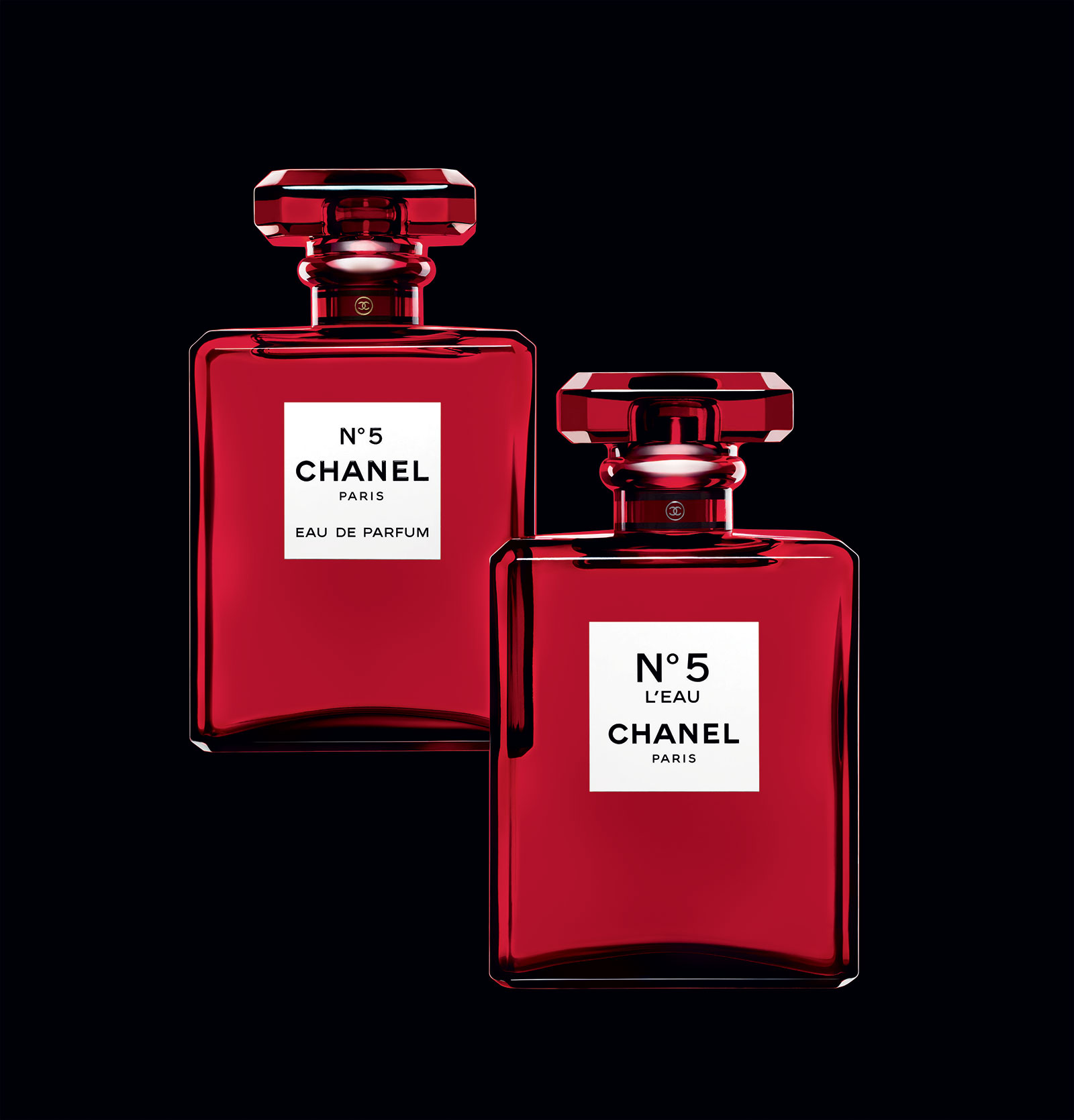 chanel no 5 l 39 eau red edition chanel perfume a new. Black Bedroom Furniture Sets. Home Design Ideas