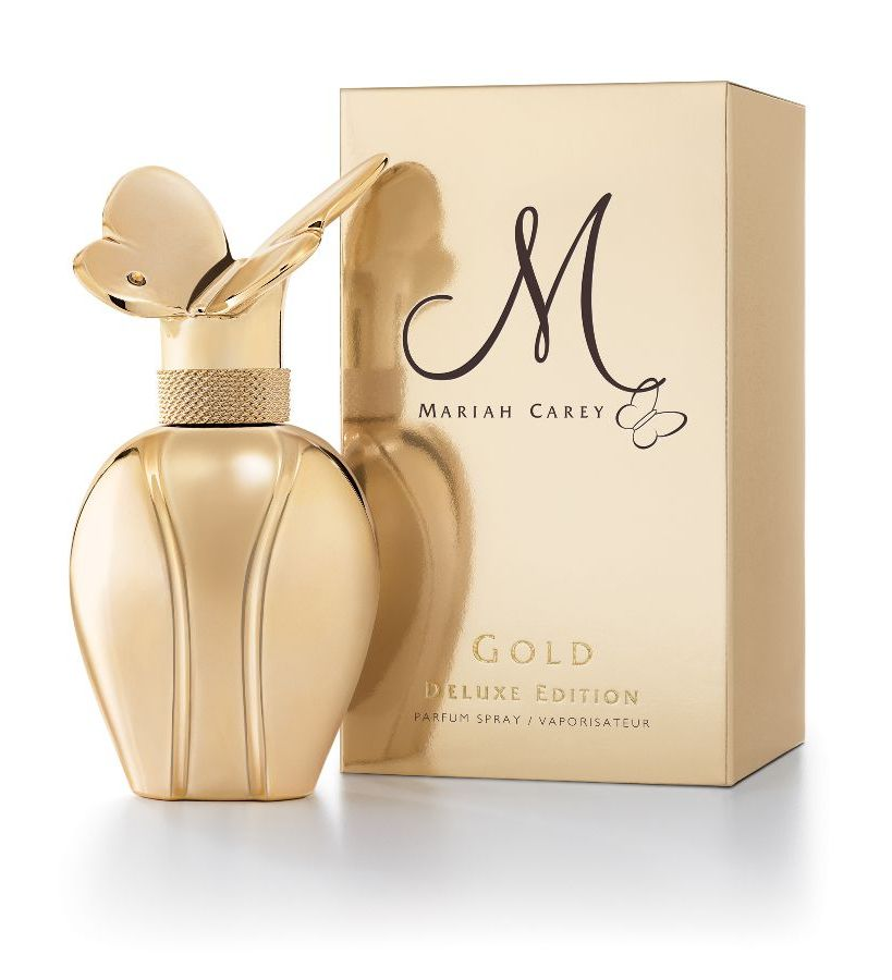 M by mariah carey gold deluxe edition mariah carey perfume for Mariah carey perfume