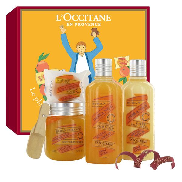 Ruban d 39 orange l occitane en provence parfum un parfum - Pelure d orange pour parfumer ...