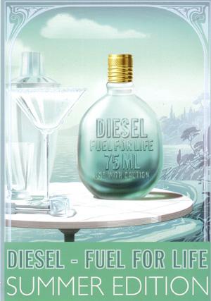 fuel for life he summer diesel cologne a fragrance for. Black Bedroom Furniture Sets. Home Design Ideas