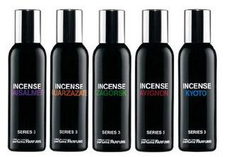 Incense Series by Comme des Garcons bottles