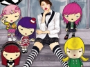 Harajuku Lovers Wicked Style Lil Angel Harajuku Lovers de dama Imagini