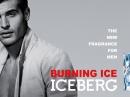 Burning Ice Iceberg de barbati Imagini
