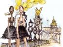 Art Mosaic Masaki Matsushima Feminino Imagens