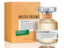United Dreams Stay Positive Benetton de dama Imagini