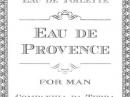 Eau de Provence Companhia da Terra de barbati Imagini