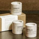 Le Labo Introducing Santal 26 Concrete Votives