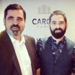 In Lisbon With Caron's President Romain Alés