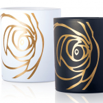 ROSE BLANCHE and ROSE NOIRE Perfumed Candles from Les Parfums de Rosine