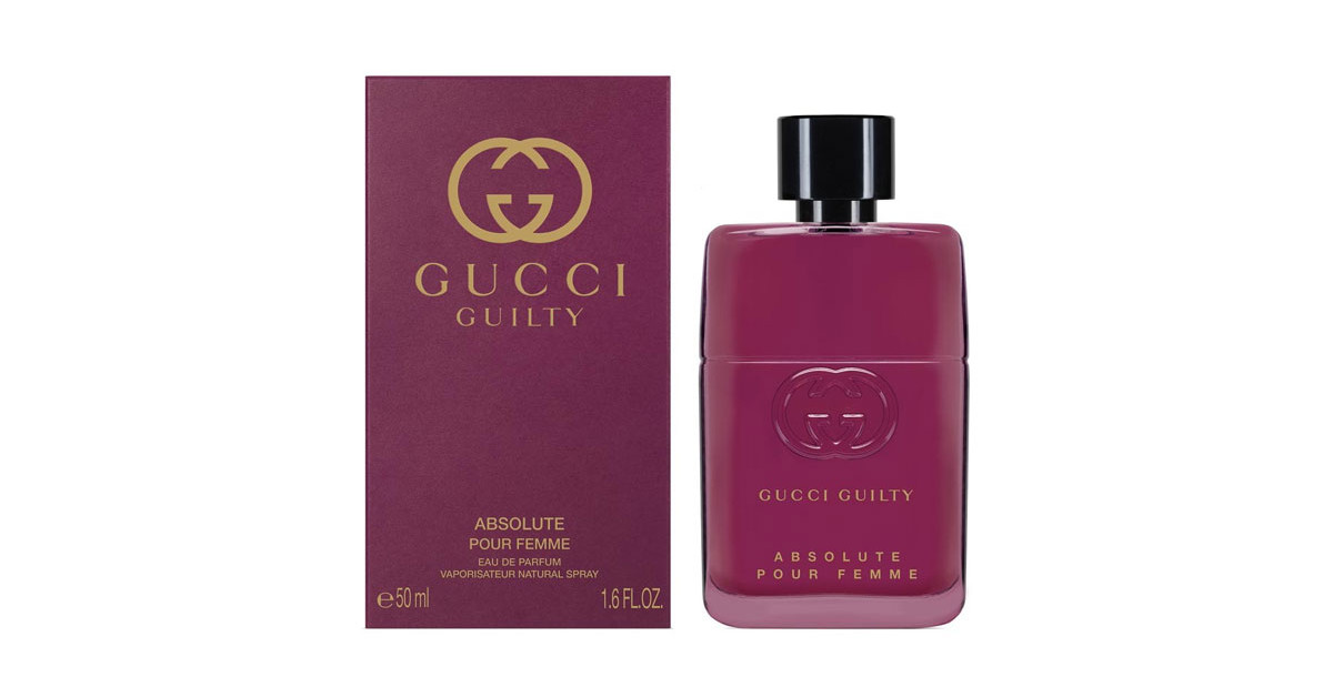 gucci guilty absolute pour femme new fragrances. Black Bedroom Furniture Sets. Home Design Ideas