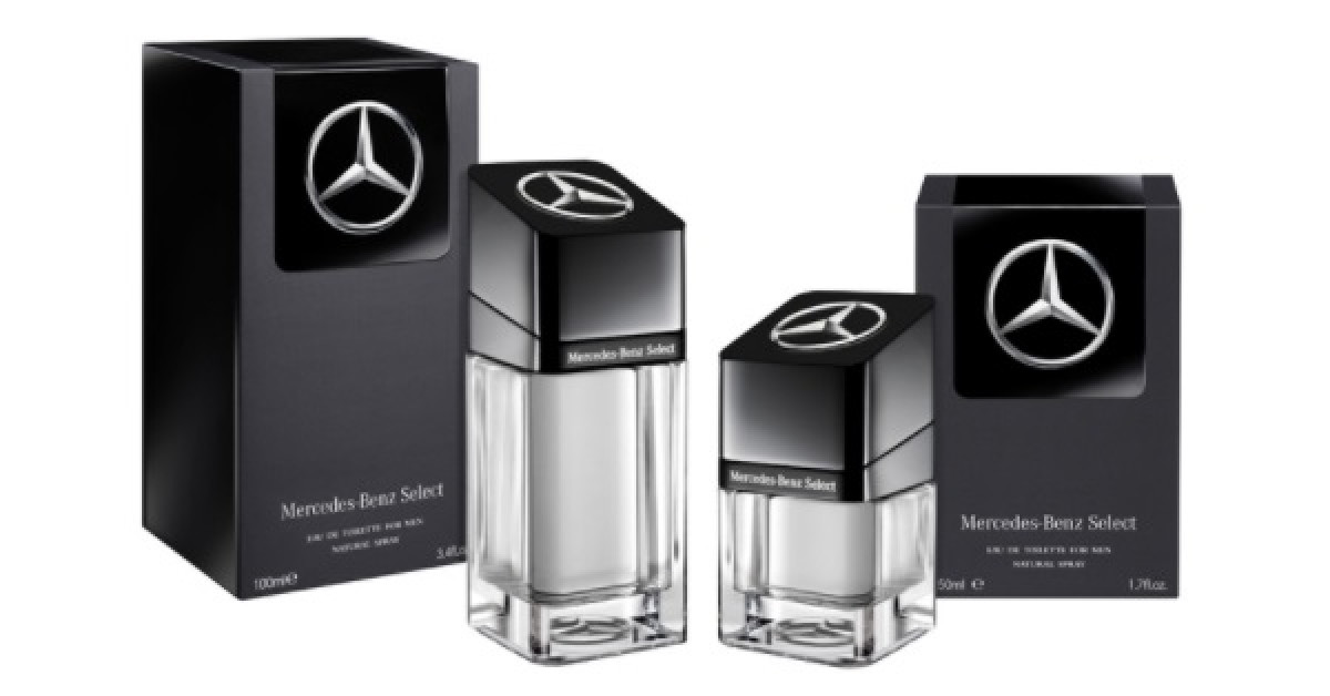 Mercedes benz select a different juice for men for Mercedes benz cologne review