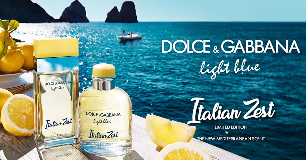 Dolce Amp Gabbana Light Blue Italian Zest Limited Duo New