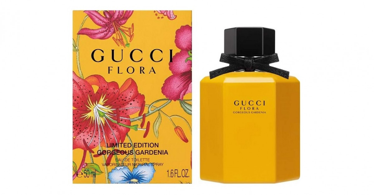 Gucci Flora Gorgeous Gardenia Limited Edition 2018 ~ New