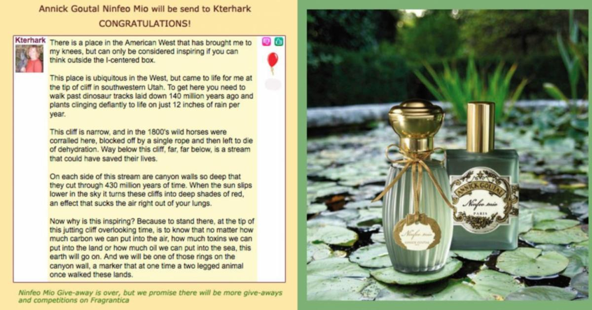 Ninfeo Mio by Annick Goutal ~ Fragrance Reviews