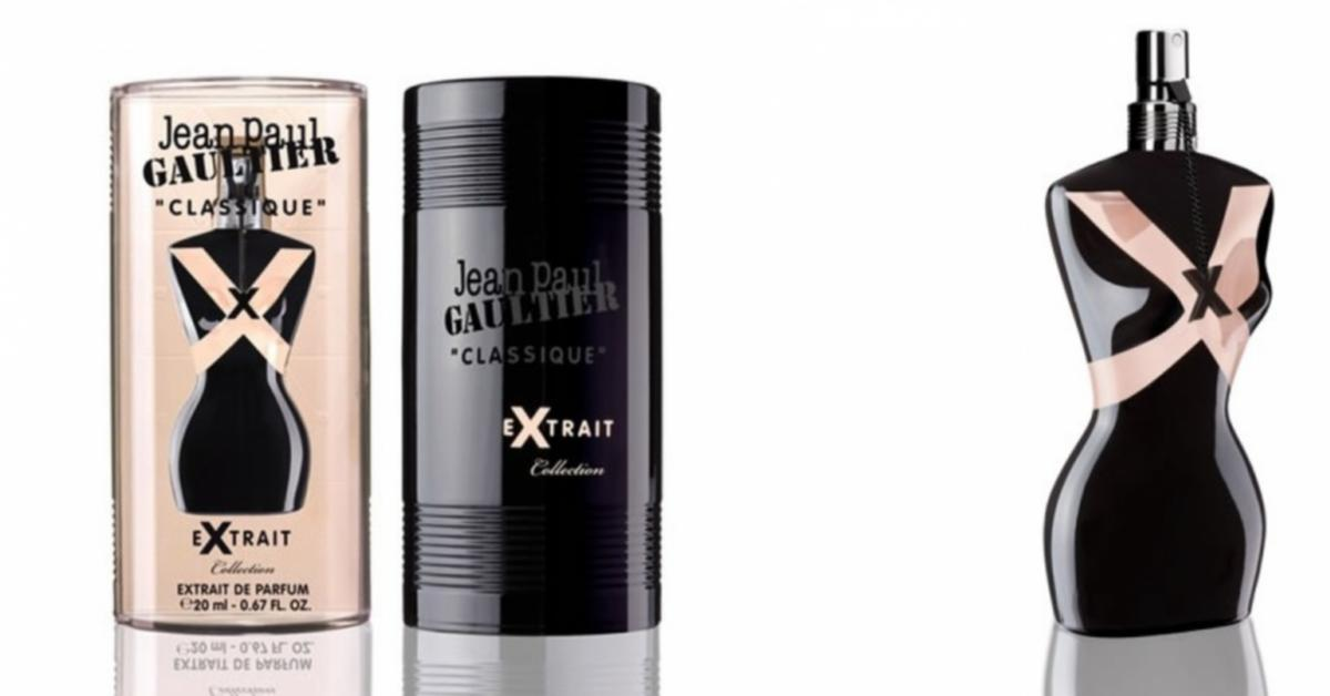 jean paul gaultier classique x extrait new fragrances. Black Bedroom Furniture Sets. Home Design Ideas