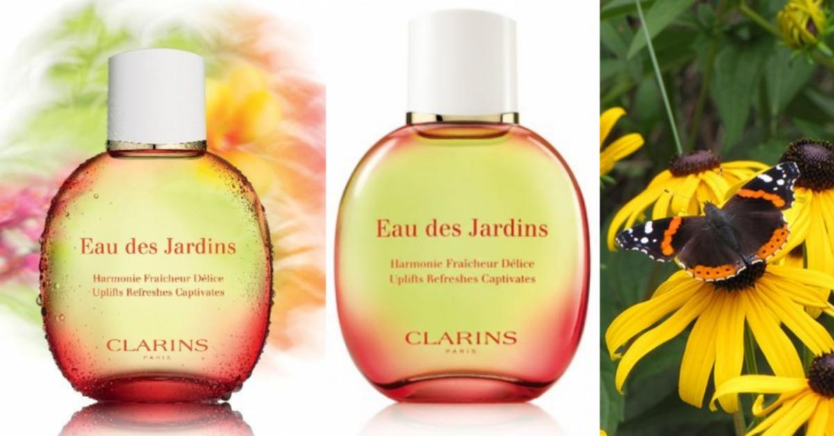 clarins eau des jardins 2010 fragrance reviews. Black Bedroom Furniture Sets. Home Design Ideas
