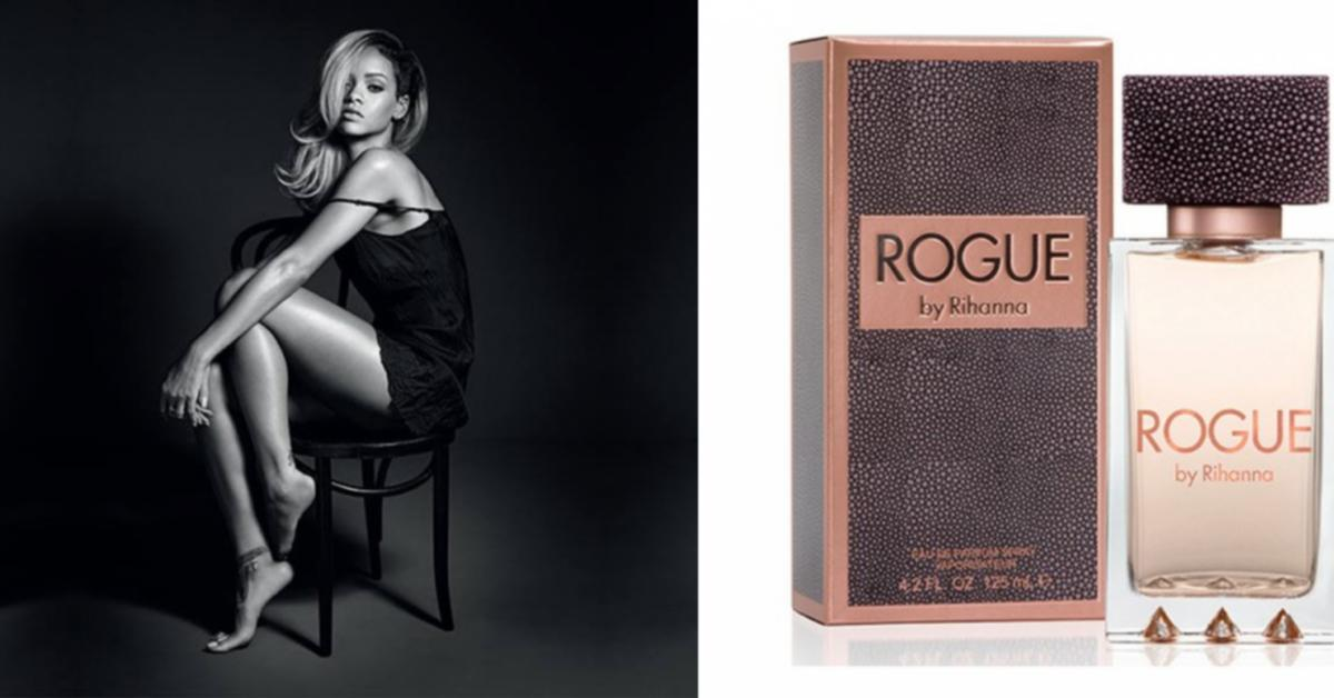 rihanna rogue new fragrances