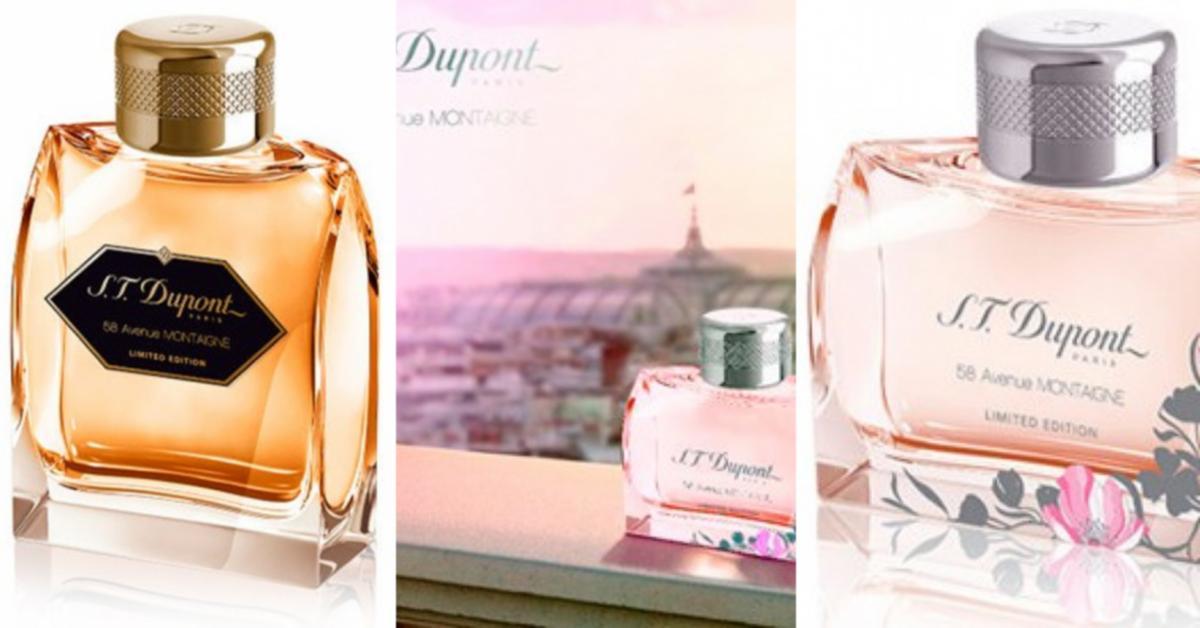 S.T.Dupont 58 Avenue Montaigne Limited Edition ~ New Fragrances