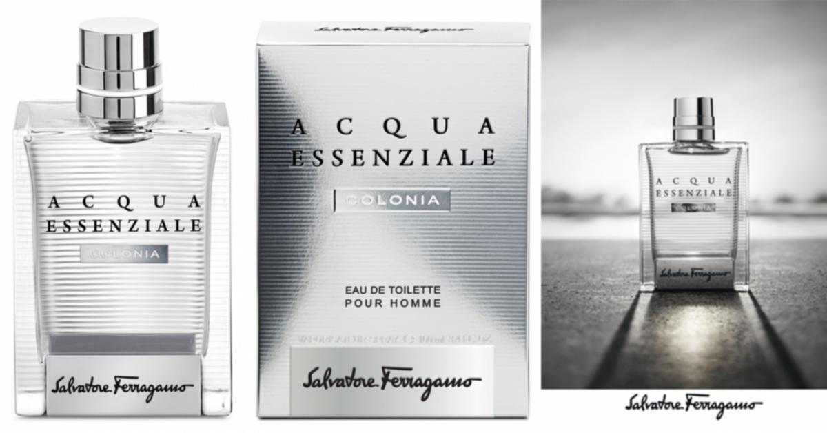 Salvatore Ferragamo Acqua Essenziale Colonia ~ New Fragrances
