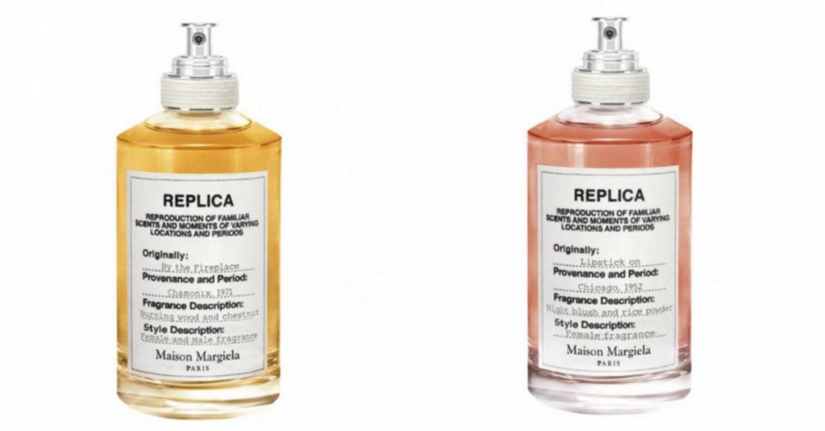 Martin Margiela Replica By The Fireplace And Lipstick On