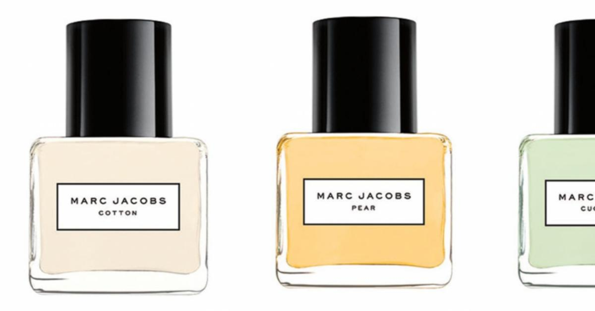 marc jacobs splash collection 2016 new fragrances. Black Bedroom Furniture Sets. Home Design Ideas