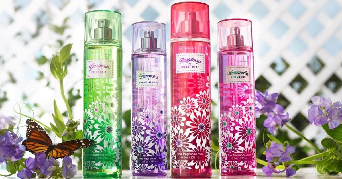 Bath Amp Body Works Four New Spring Scents New Fragrances