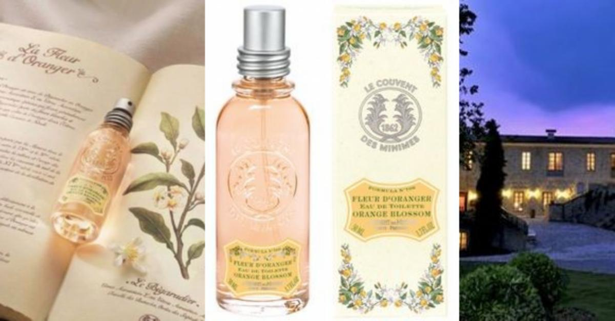 Le couvent des minimes fleur d oranger secret of orange for Le couvent des minimes parfum