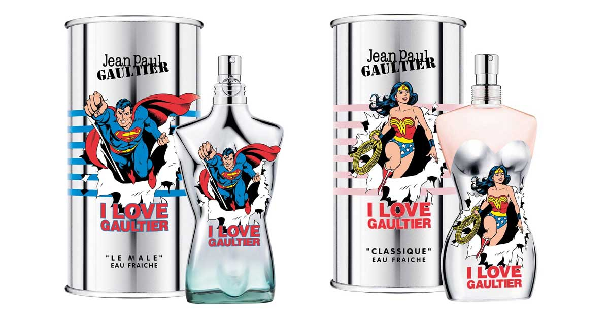 Jean Paul Gaultier - Wonder Woman and Superman ~ New