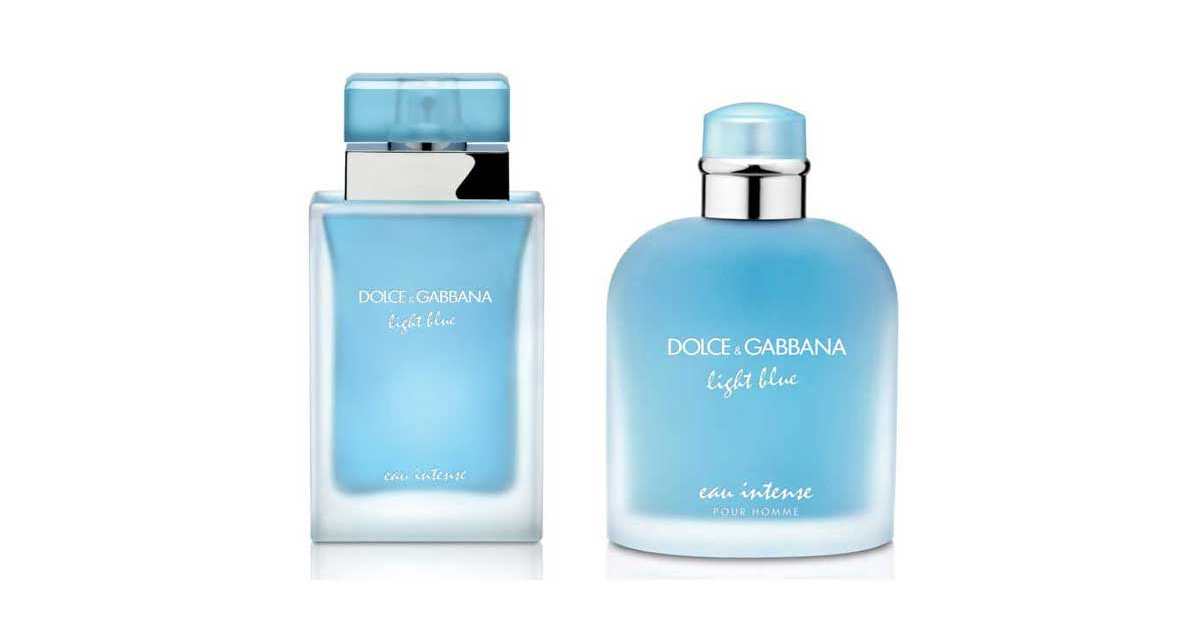 Dolce Amp Gabbana Light Blue Eau Intense New Fragrances