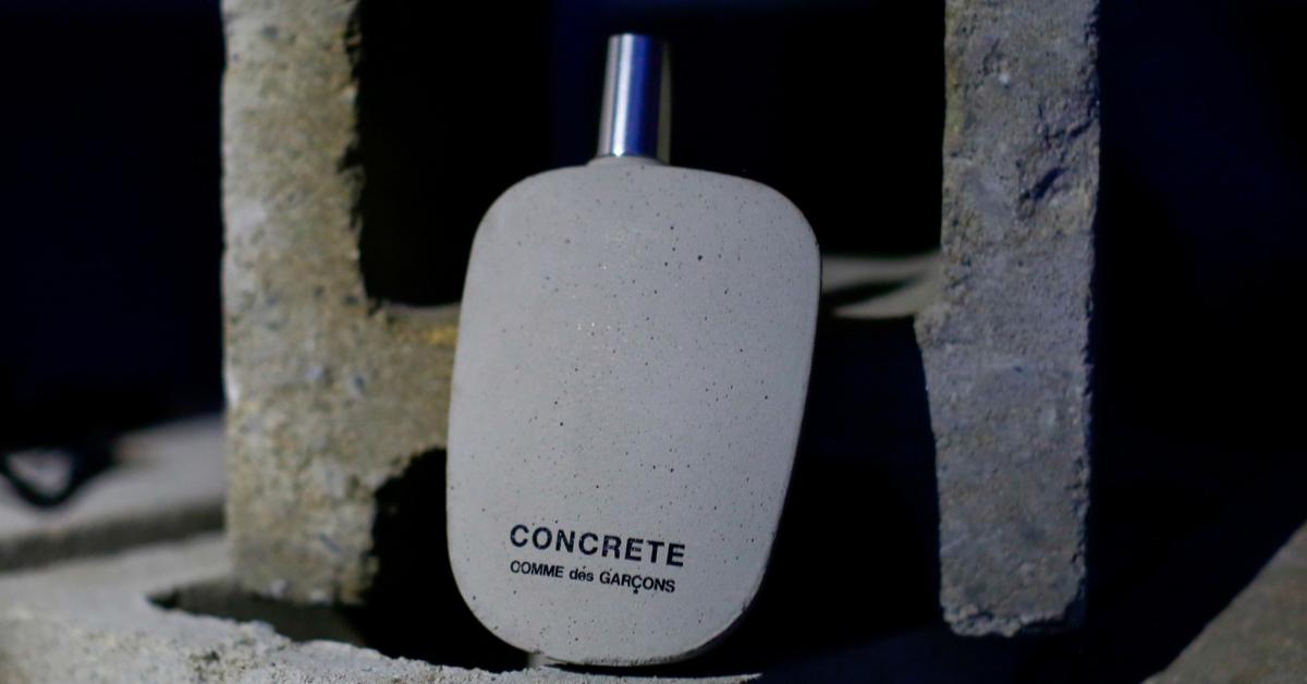 New Hard Comme Des Gar 231 Ons Concrete New Fragrances