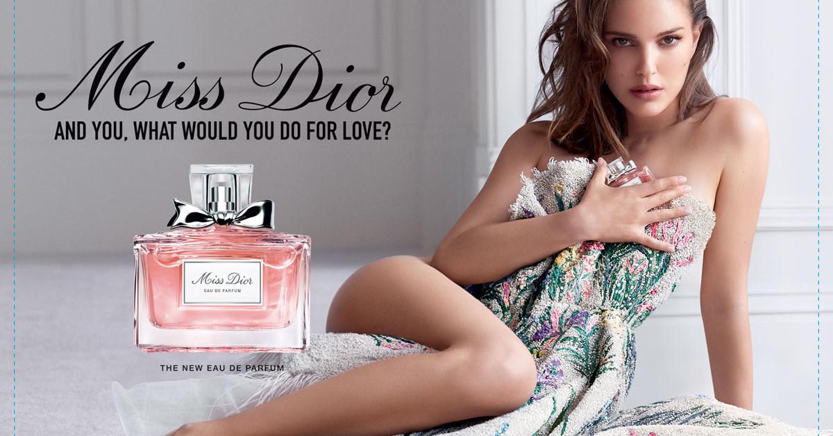 Dior Miss Dior Eau de Parfum – A New Vision of Love ~ New ...