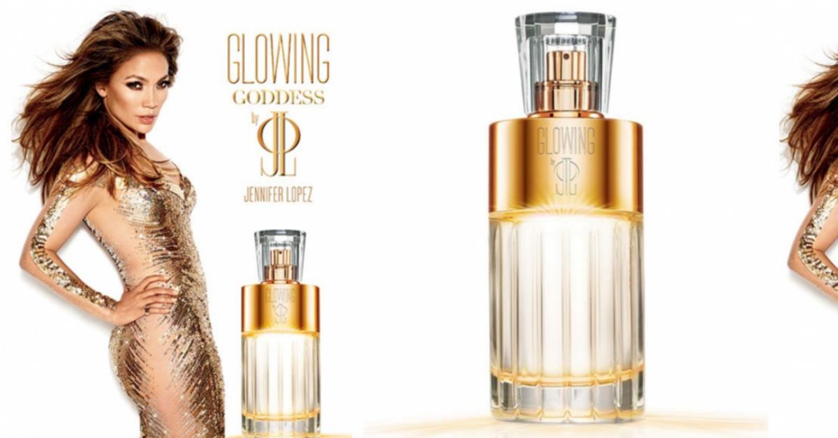 jennifer lopez glowing goddess nouveaux parfums. Black Bedroom Furniture Sets. Home Design Ideas