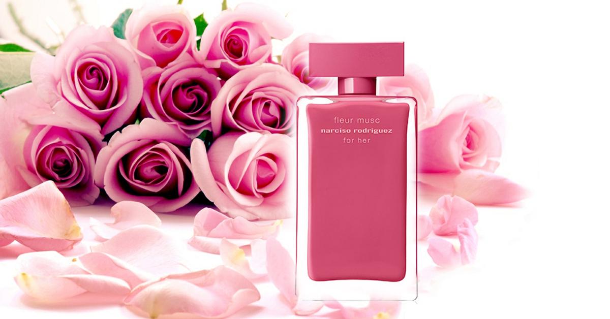 narciso rodriguez fleur musc for her nouveaux parfums. Black Bedroom Furniture Sets. Home Design Ideas