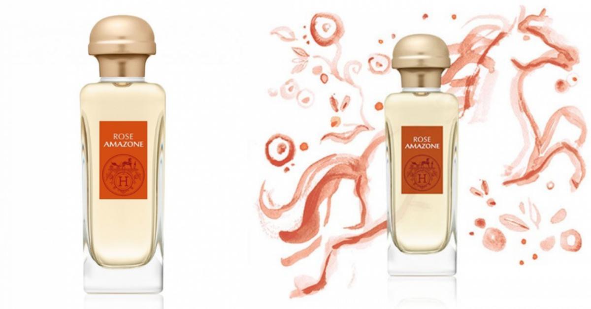 hermes rose amazone nouveaux parfums. Black Bedroom Furniture Sets. Home Design Ideas