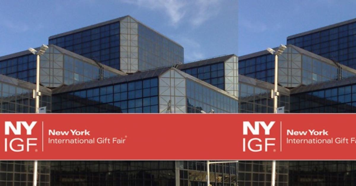 The new york international gift fair august 2012 izlo be for New york international gift fair