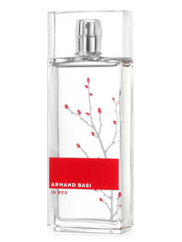 in red armand basi perfume a fragrance for women 2003