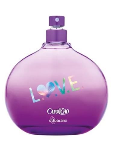 4962ec34c3f15 Capricho Love O Boticário perfume - a fragrância Feminino