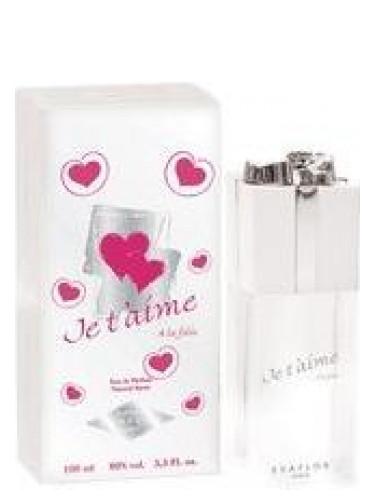 Je Taime à La Folie Evaflor Perfume Una Fragancia Para