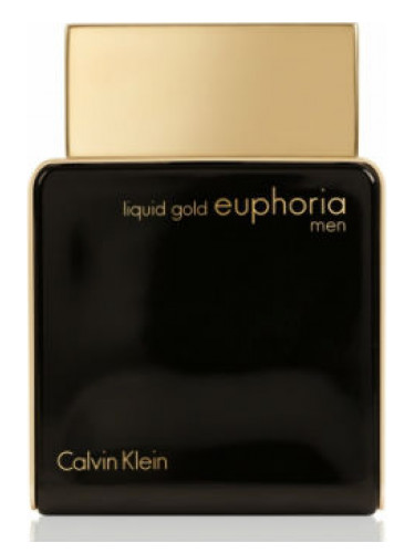 Liquid Gold Euphoria Men Calvin Klein Cologne A Fragrance For Men 2014