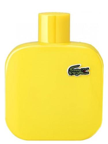 autoryzowana strona uznane marki Trampki 2018 Eau de Lacoste L.12.12 Yellow (Jaune) Lacoste Fragrances for men